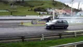 Daihatsu Charade GTti 993cc VS. Holden 5.6L V8