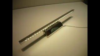 видео подсветка для картин