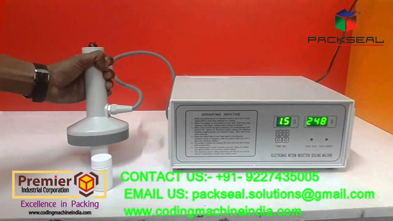 induction sealer machine, aluminium foil sealer, bottle sealing machine,  foil sealer
