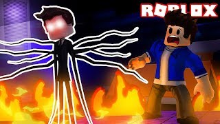 MY BROTHER TURNED SLENDERMAN INTO ROBLOX!!!