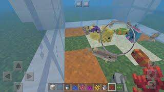 Мой первый аквариум постройки в Minecraft