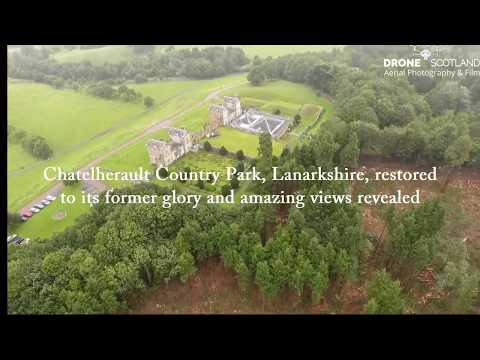 Hidden Panoramas Revealed At Chatelherault Country Park, Lanarkshire
