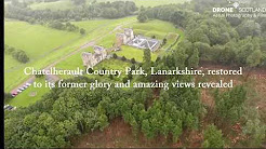 Hidden panoramas revealed at Chatelherault Country Park, Lanarkshire