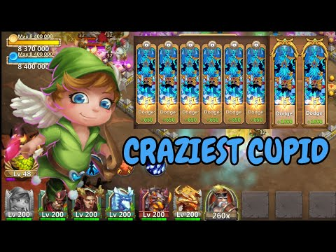 The Craziest Cupid You Will Ever See L Castle Clash