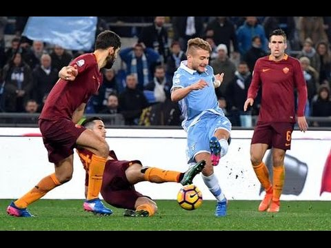 Lazio - Roma 2-0 Goals and Highlights 01/03/2017