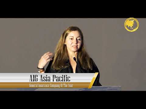 General Insurance Company of the Year 2018  - AIG Asia Pacific