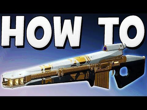 Destiny 2 - HOW TO GET PRESTIGE RAID WEAPONS !!!