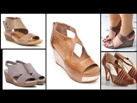 Most Comfortable Leather Slipper Leather Sandal Leather Wedge Sandal Platform Shoes/footwear Design