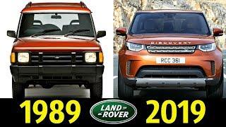 Land Rover Discovery - Эволюция (1989 - 2019) !  История Модели !