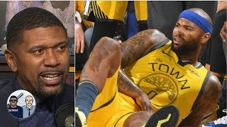 DeMarcus Cousins will likely return to the Warriors now that he's hurt - Jalen Rose | Jalen & Jacoby