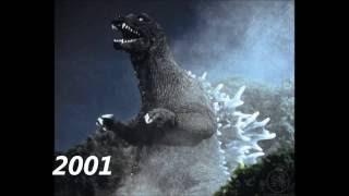 The Evolution of Godzilla (1954-2016)
