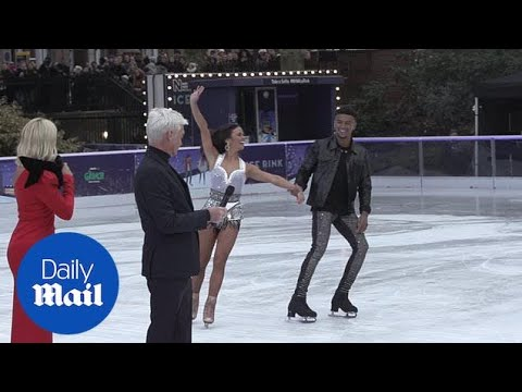 Celebrities take to the ice at the launch of Dancing on Ice