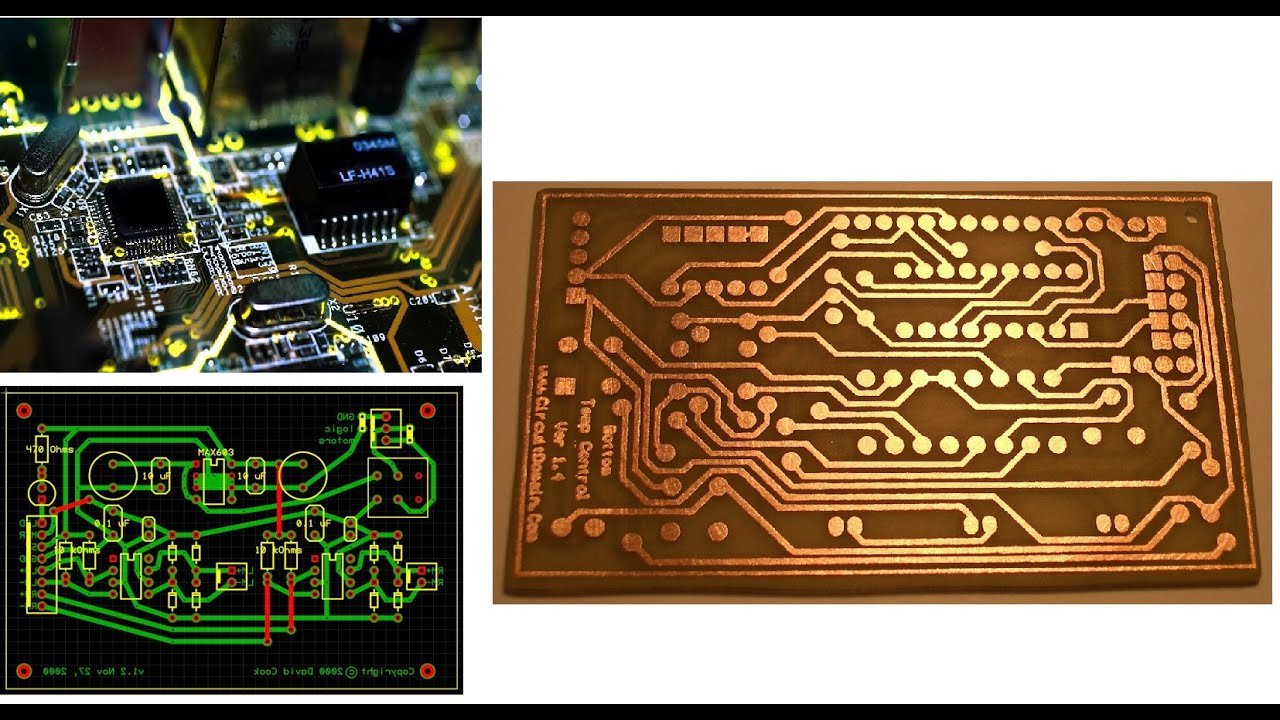 How to make A PCB layout using DipTrace in Easy Way Part 1 (For Dual ...