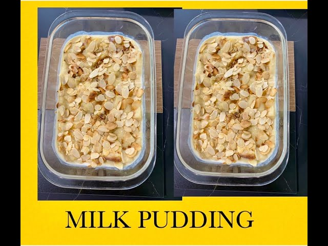 ANGLO-INDIAN MILK PUDDING / VANILLA MILK PUDDING / LEARN HOW TO MAKE A SIMPLE MILK PUDDING