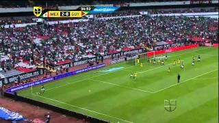 Mexico Vs. Guyana (3-1) 2014 FIFA World Cup Qualification - CONCACAF