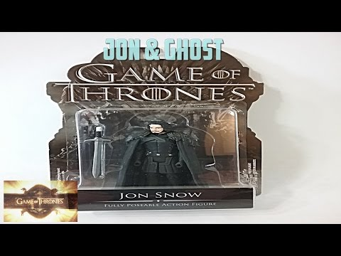 Funko Game Of Thrones 3.75 Jon Snow & Ghost Action Figure Review!