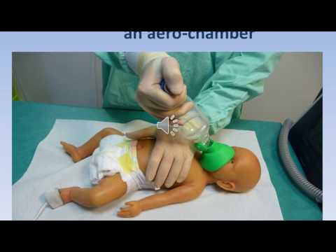Bronchiolitis  newborn airway clearance