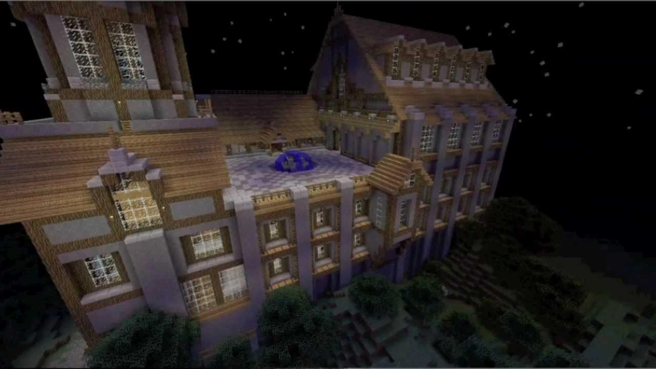Minecraft: Arkham Asylum Map - YouTube
