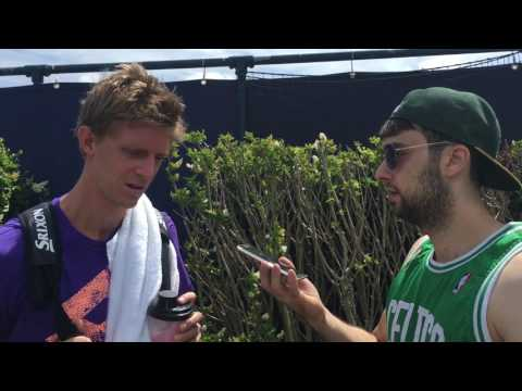 Wimbledon 2017, Kevin Anderson promises ' Before I retire I will beat Nadal!'