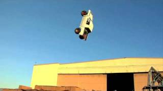 Truck backflip crash - Rhys Millen preps for Red Bull: New Year. No Limits.