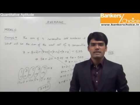 How to solve Quantitative Aptitude Problems for IBPS PO bank exams | Averages questions