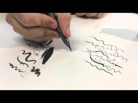 Stifte fürs Comiczeichnen (Feder, Pinsel, Tusche, Fineliner, etc.)