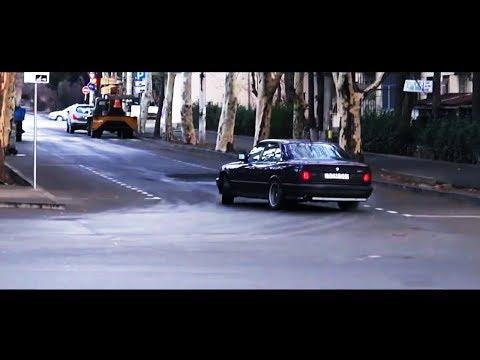 The Notorious B.I.G. & 2Pac - Sideways / BMW E34 M5 Illegal Drift (Giorgi Tevzadze)