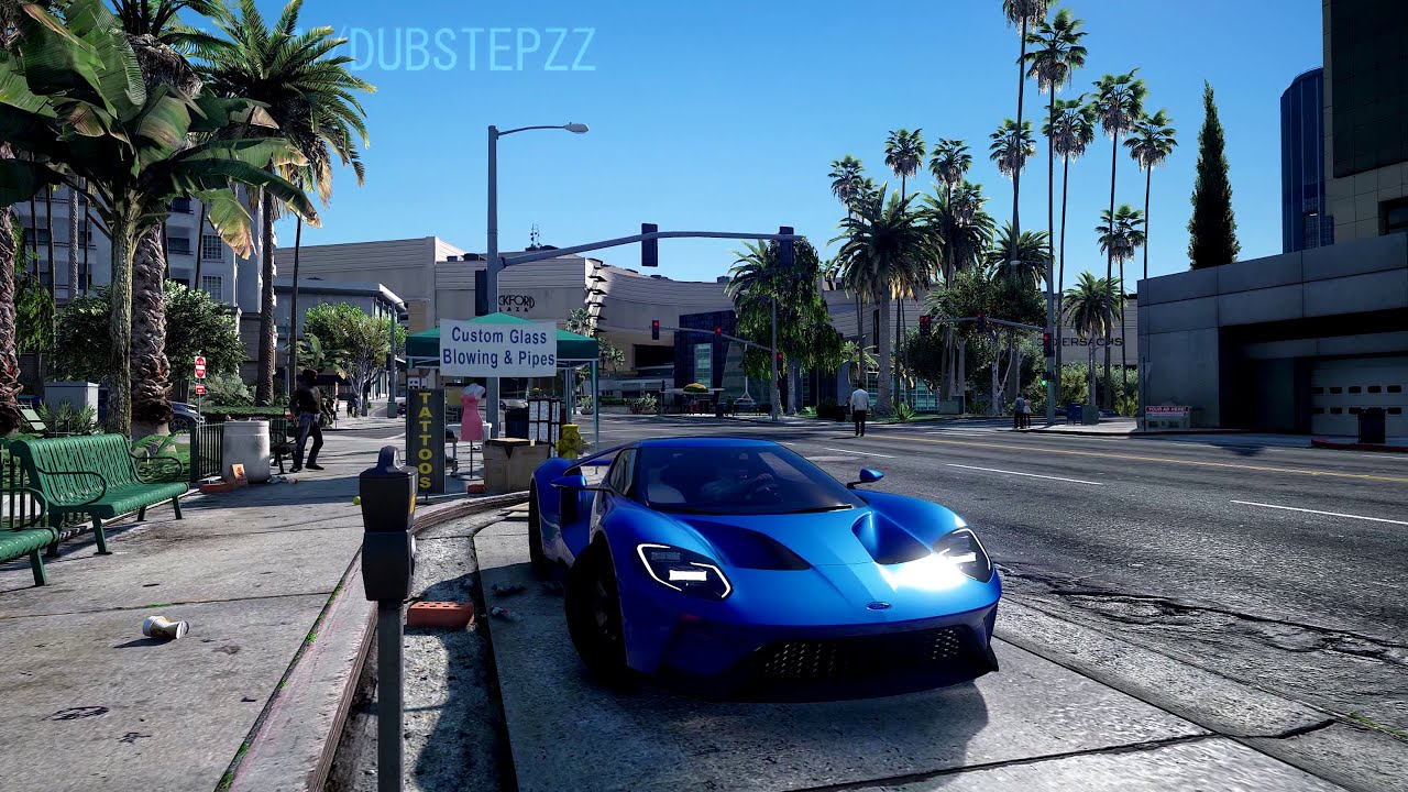 ►Gta 5: Remastered 4k 60fps Gameplay | Naturalvision Ultra-Realistic Pc  Graphics Mod!  Dubstepzz 12:07 HD