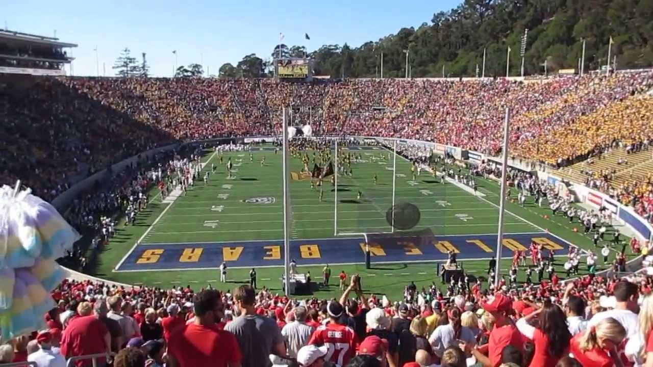 2013 Cal & Ohio Stadium Football  Entrance Memorial State