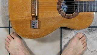 Shadow Nanoflex-Tonabnehmer - Einbau in Akustik-Gitarre