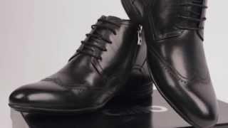 Обзор зимних мужских ботинок ditto модель 1211 из натуральной кожи