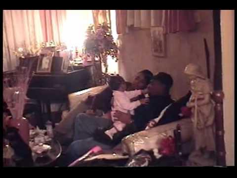 """Detroit Singleton Family 1999 """"Pops William Joseph Singleton New Year"""""""