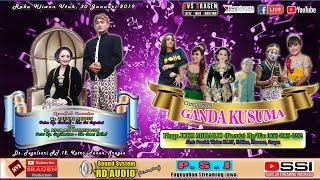 Live Streaming Campursari GANDA KUSUMA // RD AUDIO // HVS SRAGEN