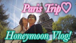 【Vlog】新婚旅行~Paris Trip Day1-4!念願のDisneyland Paris★ thumbnail