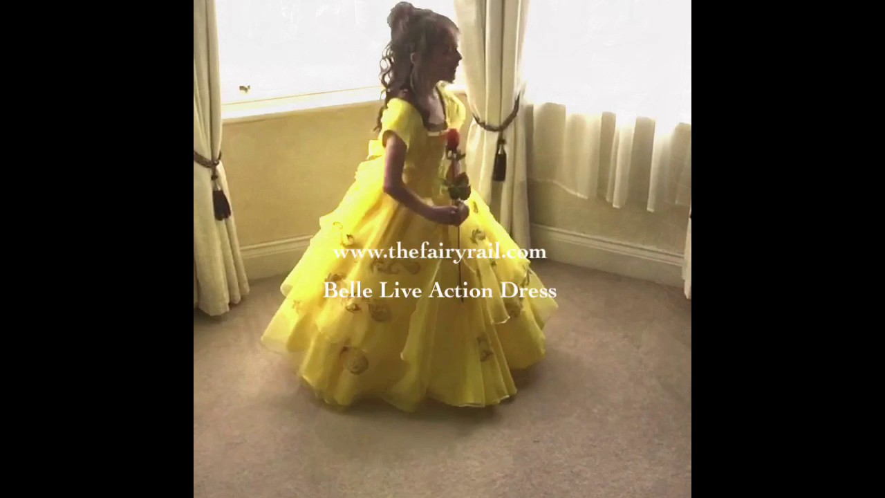 Beauty The Beast Belle S Live Action Inspired Dress