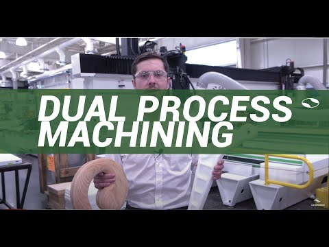 DUAL PROCESS MACHINING - With a C.R.Onsrud E-Series CNC Router