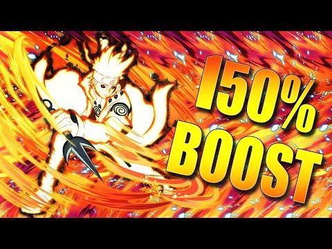 ** KCM MINATO 150% ATTACK BOOST  **   ** Naruto Ultimate Ninja Blazing *