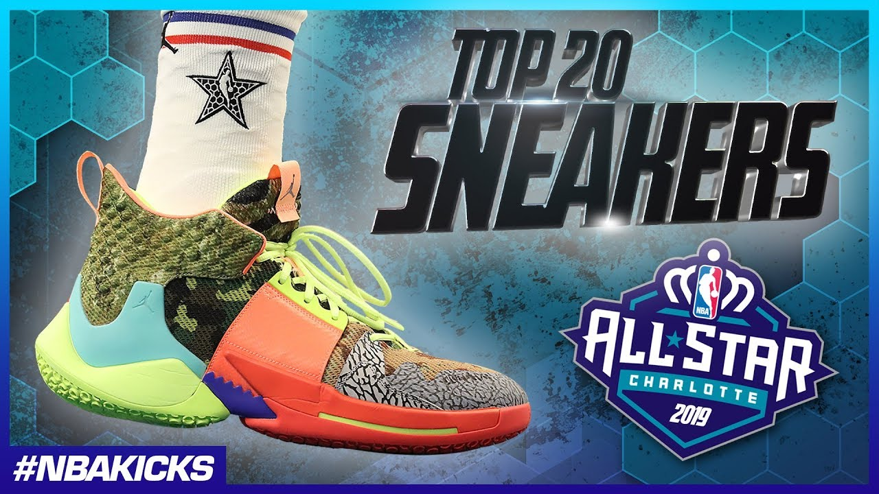 0cde80b3d2104 Top 20 Sneakers of the 2019 NBA All-Star Weekend #NBAKicks - YouTube