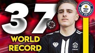 WORLD RECORD 37 KILLS SOLO SQUAD (SANGSUE)