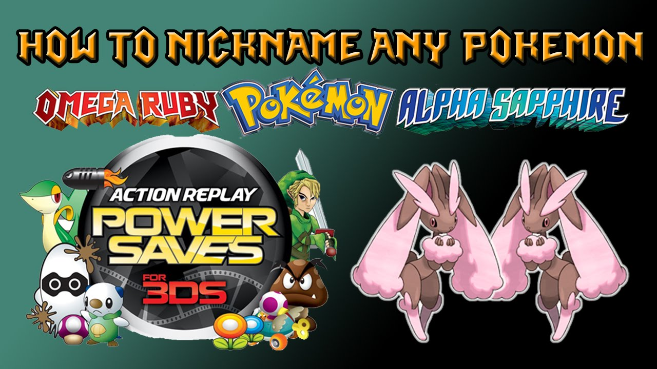 How to Nickname ANY Pokémon (Not Your OT) with Powersaves in