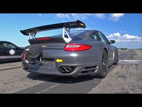 1400HP Porsche 9ff GTronic vs 1300HP 9ff TR1300 vs 1200HP Nissan GT-R Alpha 12+