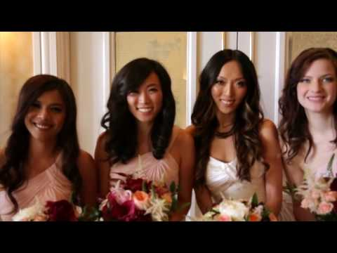 Garden Court Hotel Wedding Video Highlight Palo Alto CA
