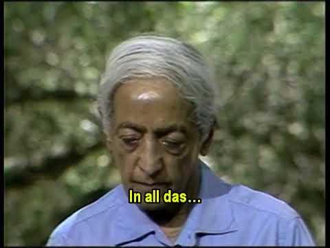 JK 1984 Ojai, Rede 1 – Wahrheit ist der Katalysator, um Konflikt zu beenden