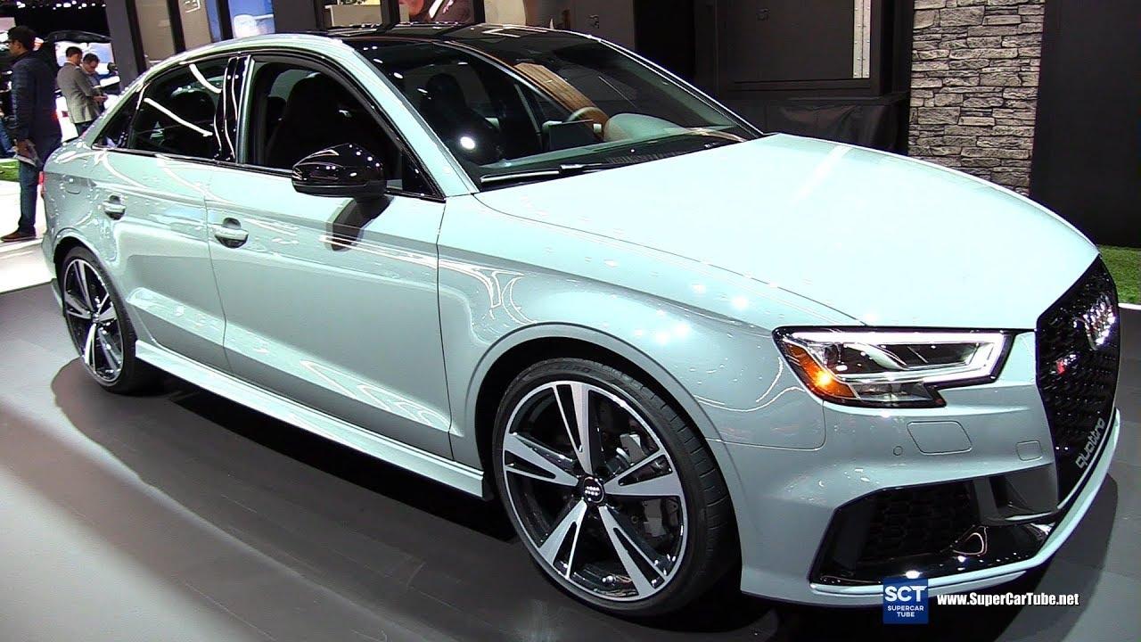 2019 Audi Rs 3 Quattro Exterior And Interior Walkaround 2018 La Auto Show