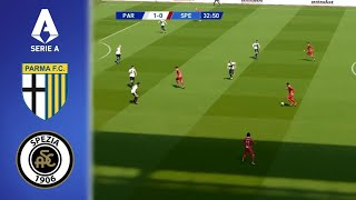 This is a video realistic gameplay of pro evolution soccer (pes 2017) italy serie tim season 2020/2021.parma vs spezia (com com) | highlights all g...