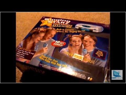 Singing Starz Video Karaoke Machine Retro Review: