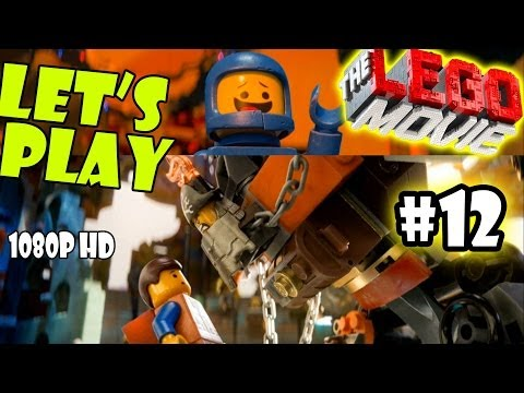 Let's Play LEGO Movie - Part 12: Attack on Cloud Cuckoo Land w/ Monster UniKitty | Walkthrough