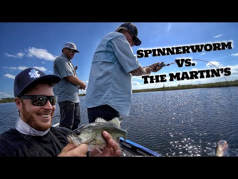 Surprise Outcome - Spinnerworm Vs. Martins Bass Fishing (Ft. Roland Martin)