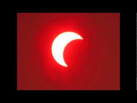Partial Solar Eclipse (annular eclipse ) May 20th 2012 - Los Angeles, CA Time Lapse