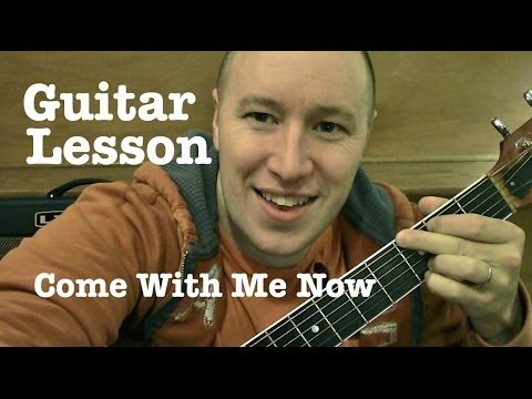 Come with Me Now ★ Guitar Riff Lesson ★ TABS ★ KONGOS